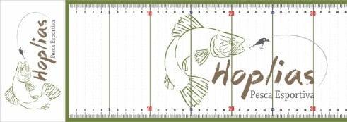 Régua pesca medir peixe