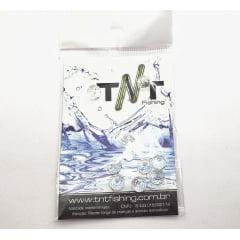Miçanga de Cristal 10mm TNT montagem isca soft
