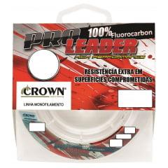 Linha Fluor Carbono Leader - 5 METROS - Lider crow 100%