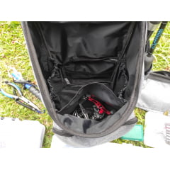 Mochila p/ pesca com pochete