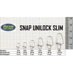 SNAP UNILOCK SLIM / Glico snaps