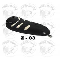 Zara Turbo isca artificial frog com rattlin anti enrosco