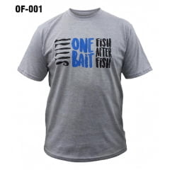 Camiseta Casual Pesca Out Fishing - Monster 3x