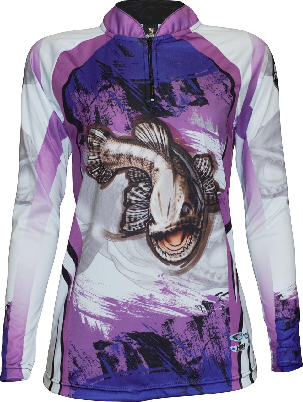 Camiseta feminina de pesca Traíra UV35+
